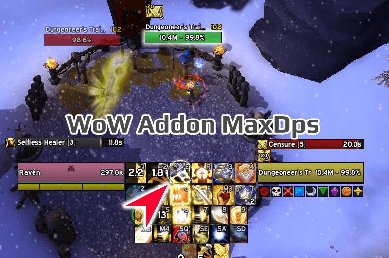 maxdps rotation helper для wow bfa